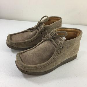 Clarks Originals Youth kids 1 W Suede chukka boots